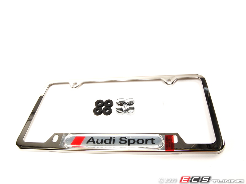 License Plate Frame AudiWorld Forums - Audi license plate frame